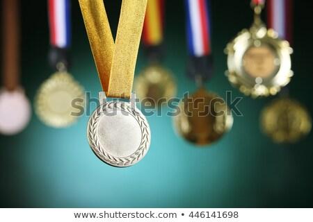 Green Award Medals Stock photo © timurock