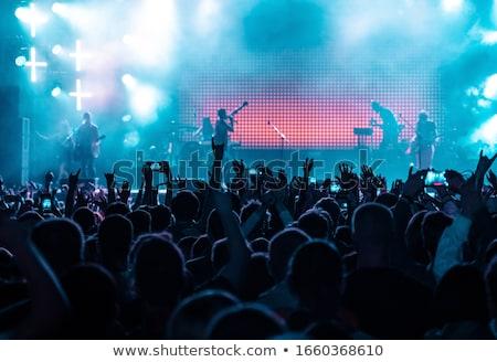 jeunes · fans · discothèque - photo stock © wavebreak_media