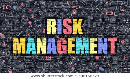 Risk Management in Multicolor. Doodle Design. Stock photo © tashatuvango