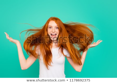 airy with red hair Stock photo © Olena