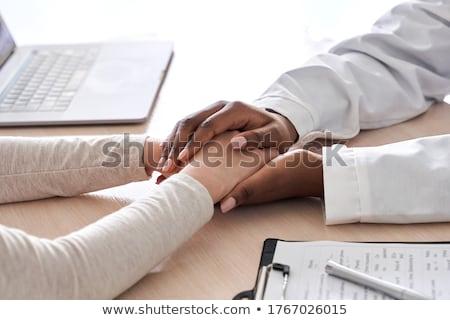 patologia · diagnóstico · médico · relatório · pílulas · seringa - foto stock © tashatuvango