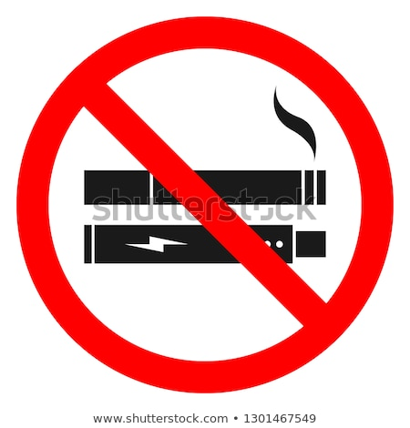 Stock photo: banner  No Smoking