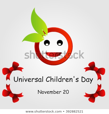 20 november Childrens Day  flower Stock photo © Olena