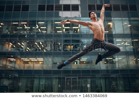 mooie · ballet · paar · dansen · witte - stockfoto © bezikus
