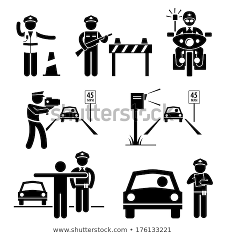警察官 · 作業 · 法 · サービス · 人 · プロ - ストックフォト © cthoman