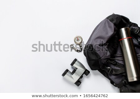 compass on white background action concept stock photo © make
