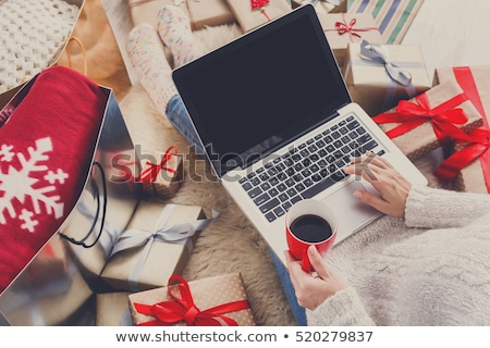 Christmas Shopping, Holiday Preparation in Winter Stock photo © robuart