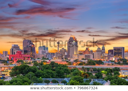 San Antonio skyline Stock photo © jsnover