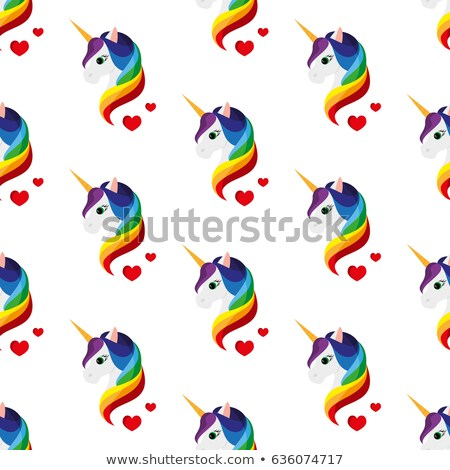 colored black magic flat pattern stock photo © netkov1