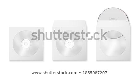 Zarf cd pencere renk gerçekçi yalıtılmış Stok fotoğraf © kup1984
