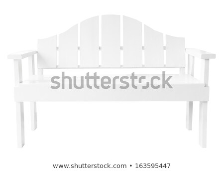 White Bench in the Room Stock photo © make