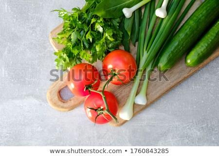 verdure · fresche · frame · alimentare · layout · verdura · varietà - foto d'archivio © mythja
