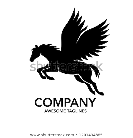 vector pegasus clip art Photo stock © VetraKori