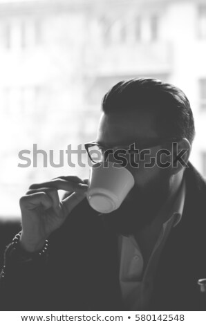 gentleman in cafe stock photo © pressmaster