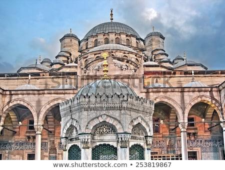 Yeni cami İstanbul bölge seyahat kentsel Stok fotoğraf © borisb17