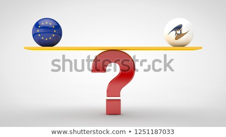 china usa question stock photo © lightsource