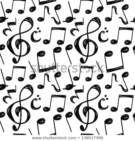 lovely musical notes background design Stock photo © SArts