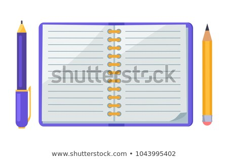 Füzet toll ikon szín létra terv Stock fotó © angelp