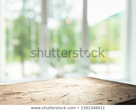Interior of Colorful Room, Panoramic Window View Stock photo © robuart