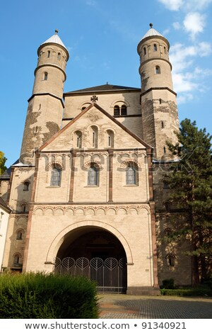 The Church of St. Pantaleon, Cologne, Germany Stock photo © borisb17