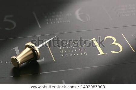 írott arany levelek fekete 3d illusztráció háttér Stock fotó © olivier_le_moal