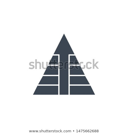 треугольник · вектора · икона · изолированный · белый · дороги - Сток-фото © smoki