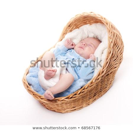 赤ちゃん 少年 母親 孤立した 白 赤毛 ストックフォト © Lopolo