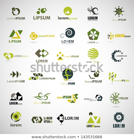 template logo design globe Stock photo © butenkow