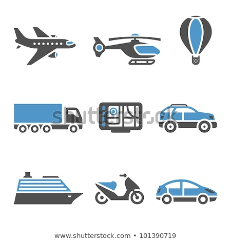Transport Icons - A set of second Stock photo © Ecelop