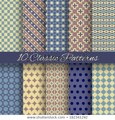 Set vintage shabby background with classy patterns Stock photo © H2O