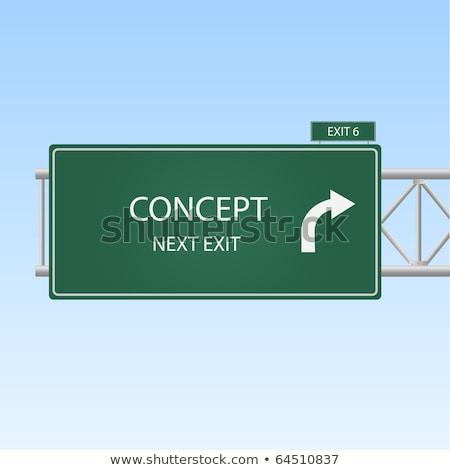 Innovation Road Sign Stock photo © burakowski
