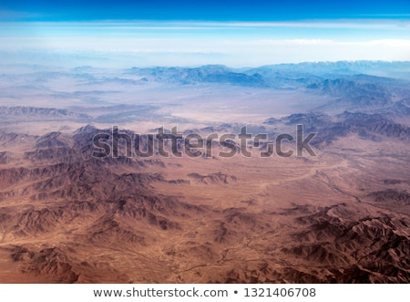Montanha alcance neve deserto montanhas colina Foto stock © meinzahn