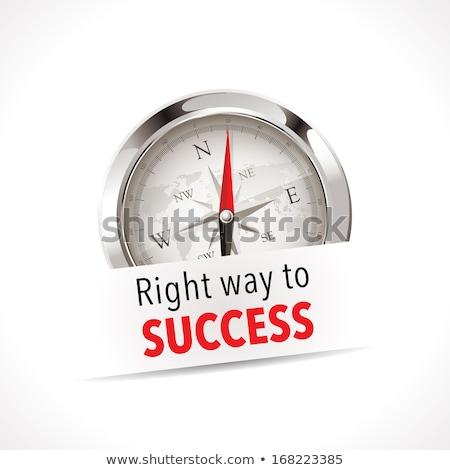 right choice key to successful life Stock photo © OleksandrO