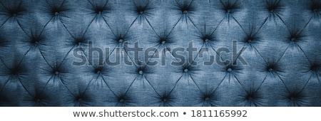 レトロな ソファ 幾何学的な ソファ 背景 青 ストックフォト © aspenrock