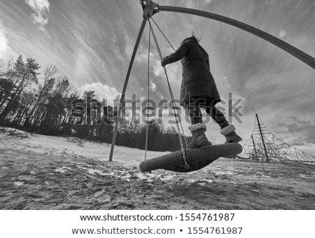 женщину природы путешествия весело портрет Сток-фото © IS2