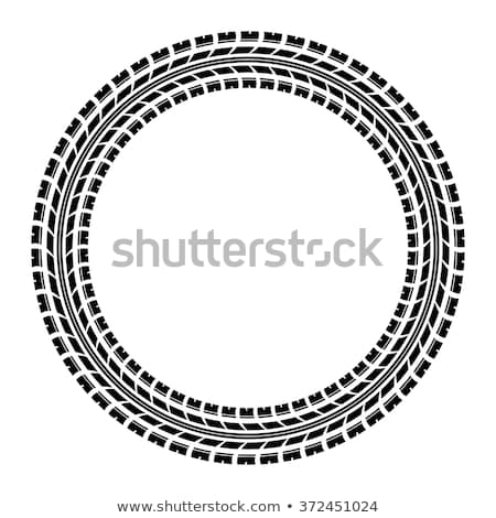 pneu · seguir · carro · estrada · abstrato · rua - foto stock © sarts