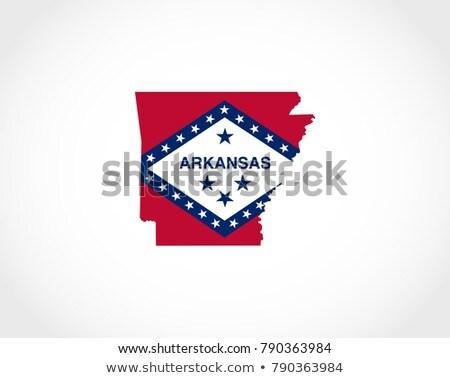 State of Arkansas flag Stock photo © grafvision