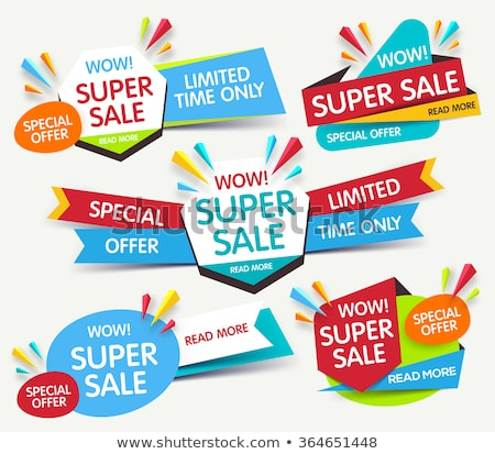 Best Price Discount, Sale Promotional Banners Set Stock photo © robuart
