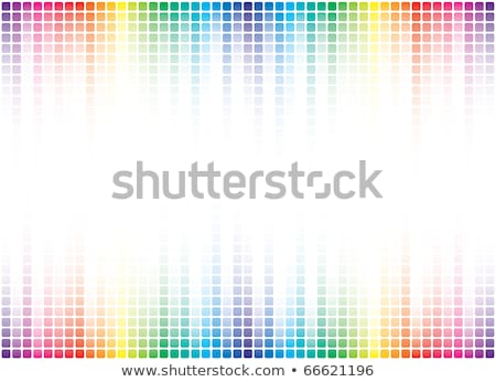 Background From Color Cube By Wave Stok fotoğraf © ALMAGAMI