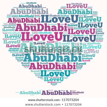 United Arab Emirates in word clouds Stock photo © Istanbul2009