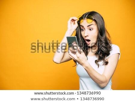красивой · женщину · глядя · окна · портрет - Сток-фото © wavebreak_media