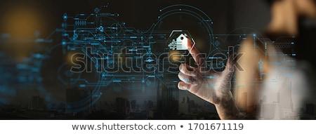 Internet coisas empresário negócio computador telefone Foto stock © Elnur