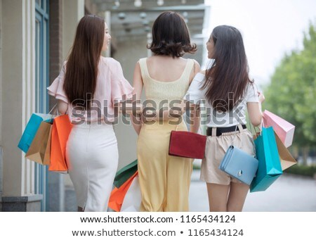 Rear view of young woman in hot pants Stock photo © wavebreak_media