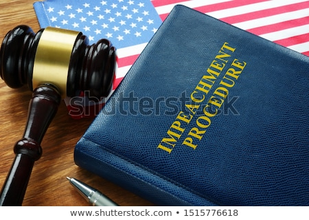 Impeachment Law Concept Stock photo © Lightsource