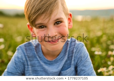 baby · madeliefjes · me · ziek · eten · bloemblaadjes - stockfoto © lopolo