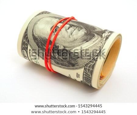 Uno cien dólares billetes goma cómico Foto stock © rogistok