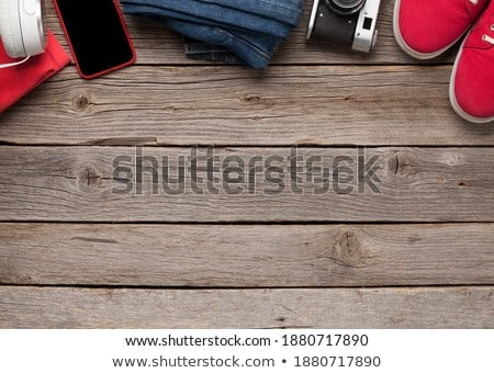 Clothing and accessories. Urban outfit for everyday or travel Stock photo © karandaev