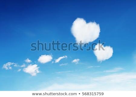 couple and cloud heart stock photo © paha_l