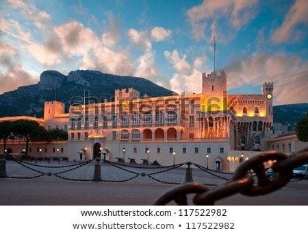 Palacio Mónaco oficial residencia príncipe cielo Foto stock © amok