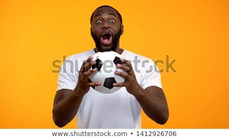 Rugby jogador bola branco esportes Foto stock © wavebreak_media